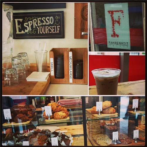 Fahrenheit Coffee, Toronto, coffee shop