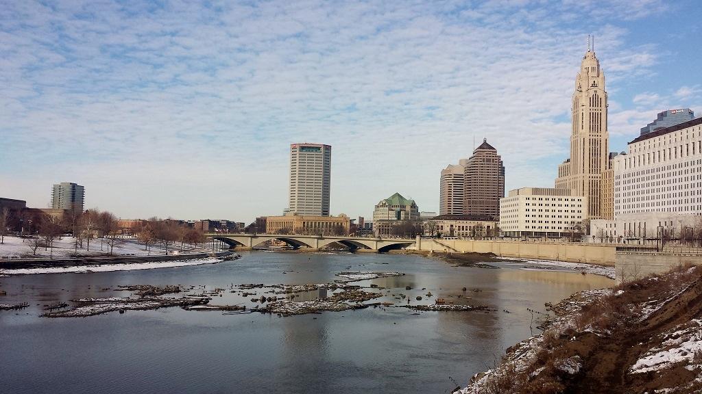 Photo s of the week an ohio buckeye skyline the for Columbus capitale