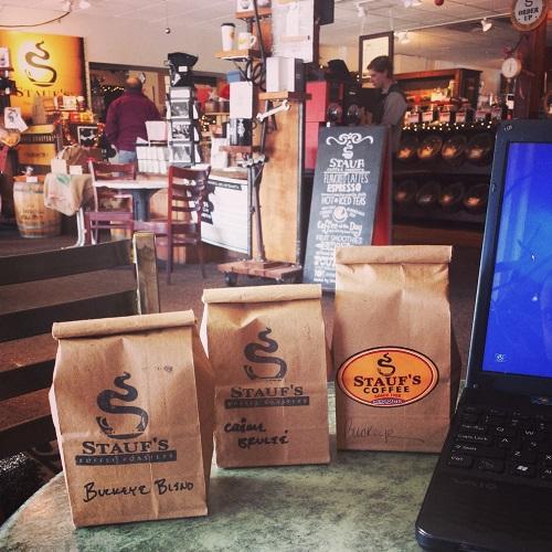 Stauf's coffee shop, Columbus, Ohio