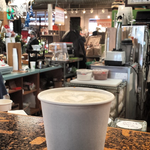 Pumpkin Cappaccuino, A Touch Of Earth, North Market, Columbus, Ohio,