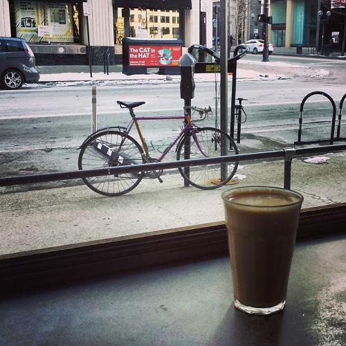 Ohio Maple Latte, Cafe Brioso, Columbus, Ohio