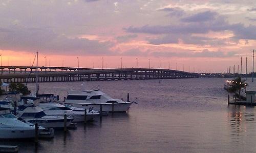 Charlotte Harbor, Punta Gorda, Florida, sunset