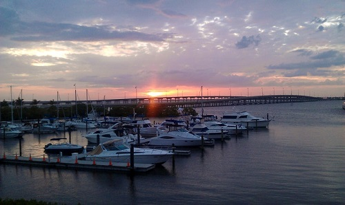 Charlotte Harbor, Punta Gorda, Florida, sunset