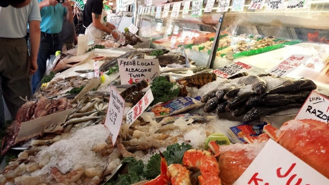 Pike Place Market, Seattle, Washington, fresh seafood