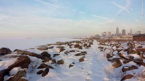 Edgewater Park, Lake Erie, Cleveland, Ohio