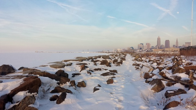 Edgewater Park, Lake Erie, Cleveland, Ohio