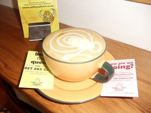 Mocha, Coffee Culture, Sumner Beach, Christchurch, New Zealand, coffee shop