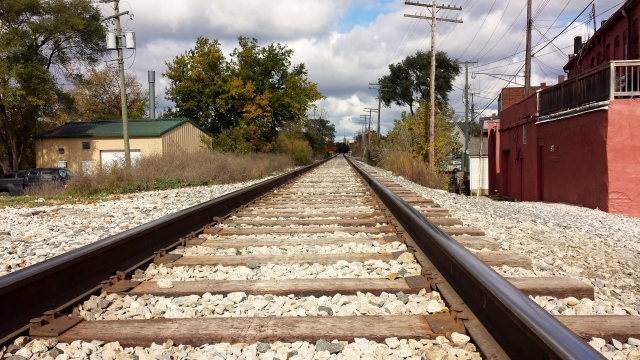 Milford, Michigan, railroad tracks