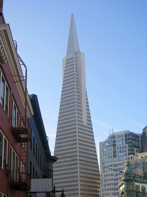 Transamerica Pyramid, San Francisco, California