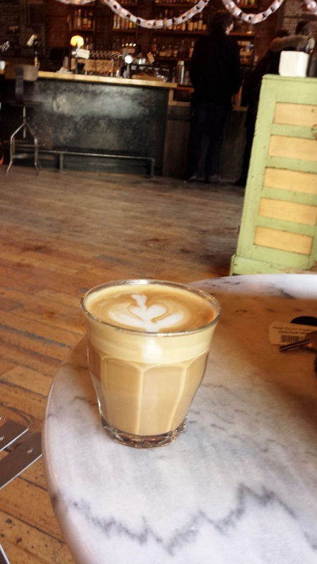 Lavender Latte - Great Lakes Coffee - Detroit, Michigan coffeeshop
