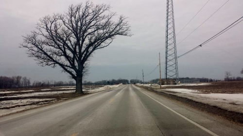 Road Trip, rural, country Ohio