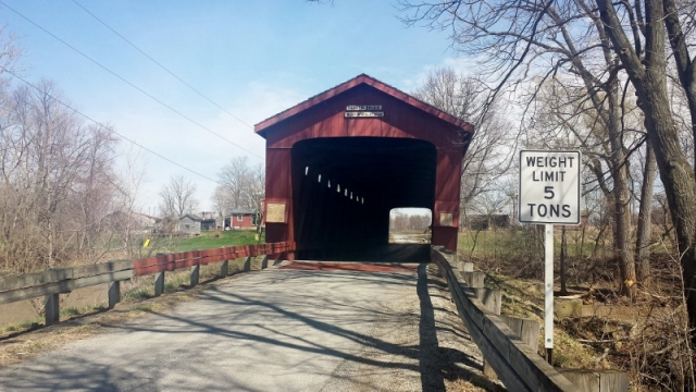 Parker Covered Bridge, Ohio