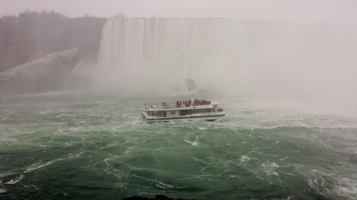 Journey Behind the Falls, Horseshoe Falls, Niagara Falls, Ontario, Canada