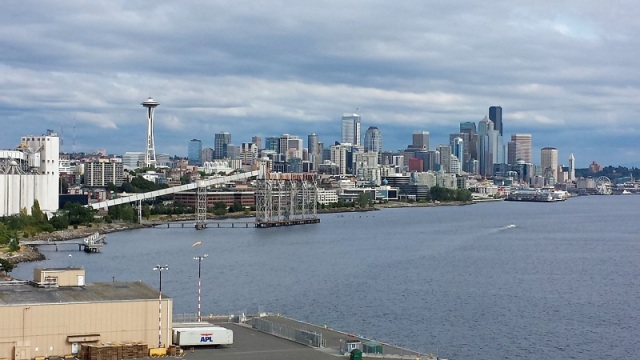 Seattle, Washington, skyline, cruise, celebrity cruise