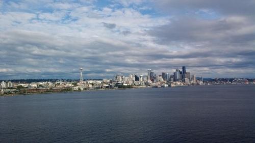Seattle, Washington, skyline, cruise, celebrity cruise