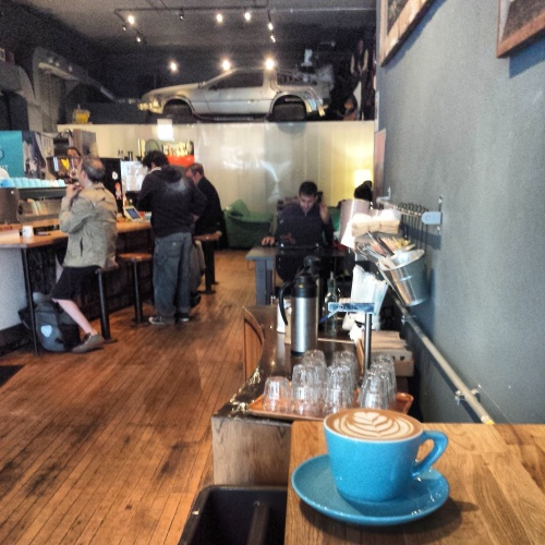 The Wormhole Coffee, Wicker Park, Chicago, coffee shop