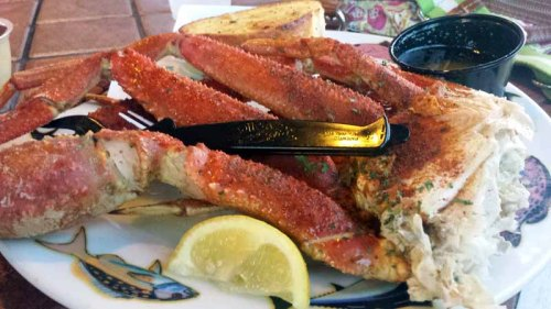 St. Pete Beach, Florida, Crabby Bills, seafood, king crab