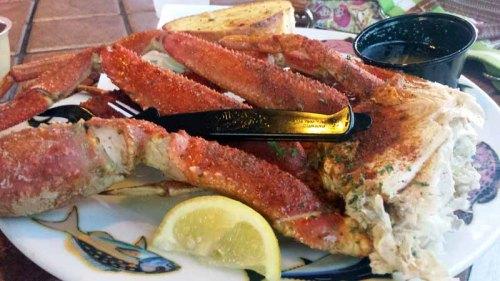 St. Pete Beach, Florida, Crabby Bills, seafood, king crab