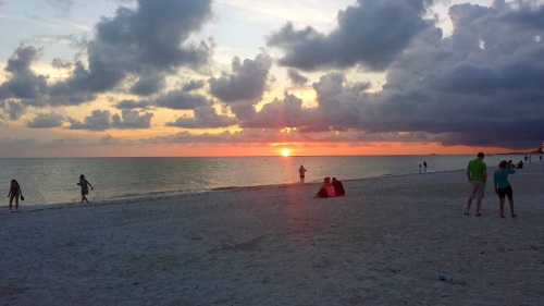 St. Pete Beach, Florida, Gulf of Mexico, beach, sunset