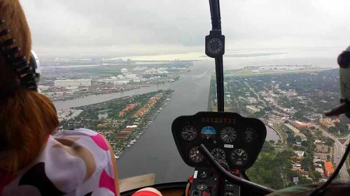 Tampa, Florida, helicopter tour, Tampa Bay