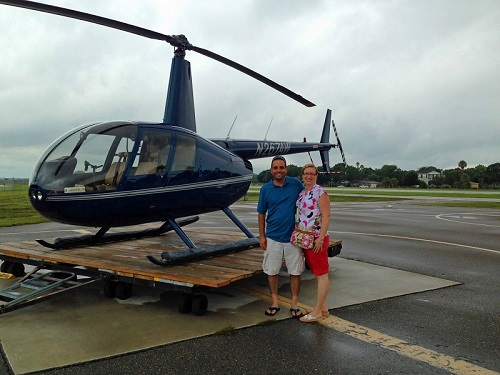 Old City Helicopter tours, Tampa, Florida