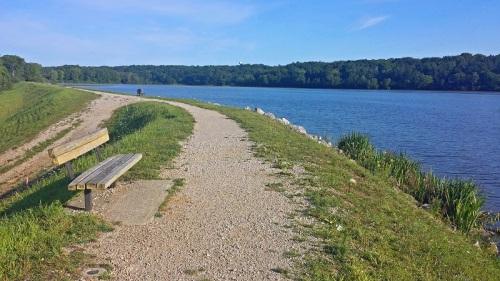 Barton Park, Ann Arbor, Michigan, Huron River