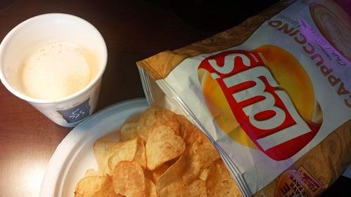 Lay's Cappuccino Potato Chips