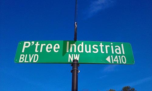 Peachtree Industrial Blvd, Gwinnett County, Georgia