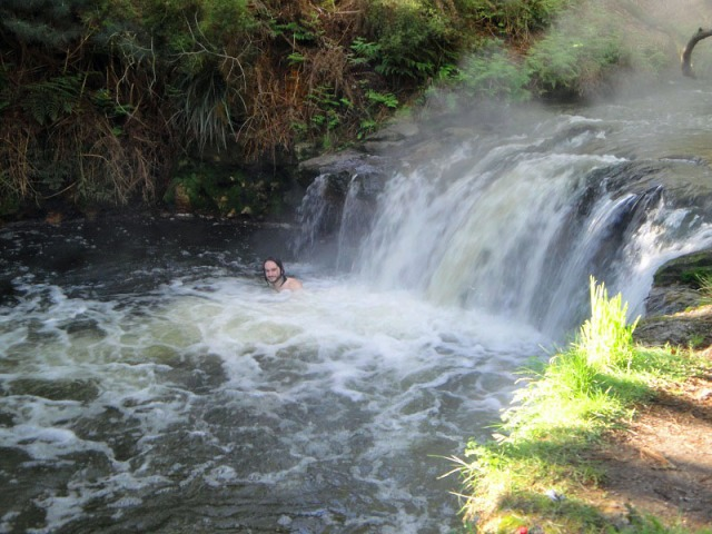 Kerosene Creek, Rotorua, New Zealand, hot springs