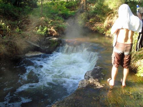 Kerosene Creek, Rotorua, New Zealand, hot springs