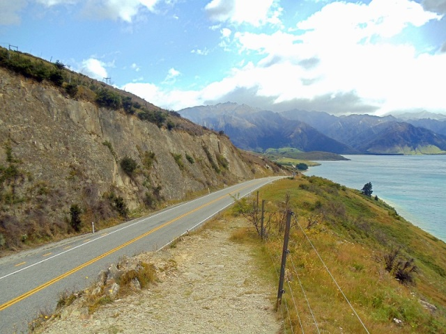 State Highway 6, Wanaka, South Island, New Zealand road trip