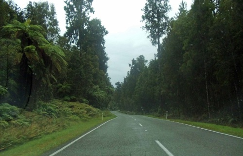State Highway 6, West Coast, South Island, New Zealand road trip