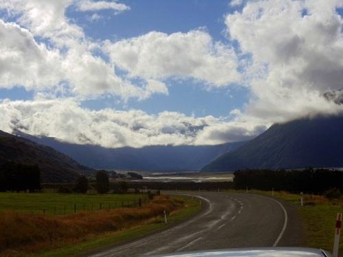 State Highway 73, Wanaka, South Island, New Zealand road trip