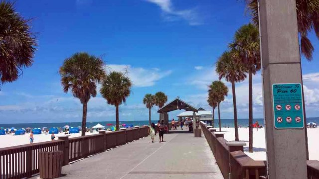 Clearwater Beach, Florida, Pier 60 #LoveFL