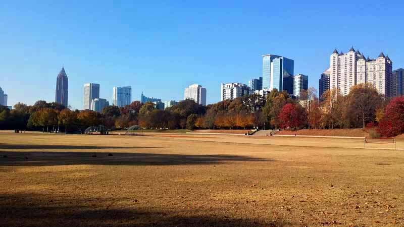An Atlanta Autumn Stroll Through Piedmont Park The