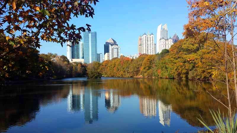 An Atlanta Autumn Stroll Through Piedmont Park The