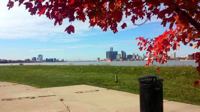 Autumn, Belle Isle, state park, Detroit, Michigan