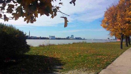 Autumn, Belle Isle, state park, Detroit, Michigan