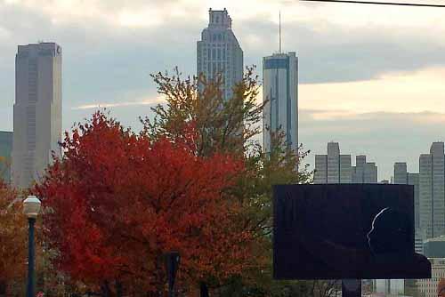 Old Fourth Ward, Atlanta, Georgia, Autumn, MLK