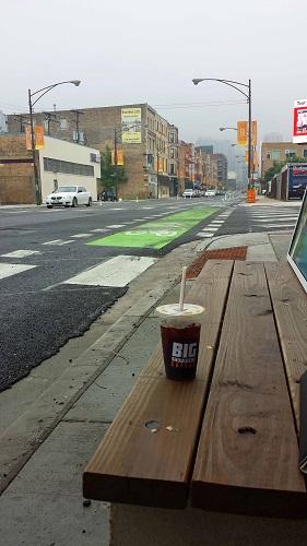 Big Shoulders Coffee, Chicago, iced coffee