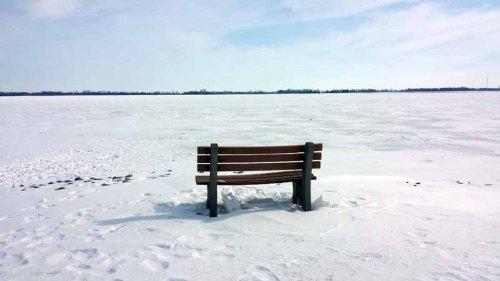 Findlay Reservoir, Ohio, winter