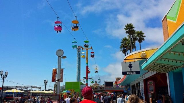 Returning To The Santa Cruz Beach Boardwalk The