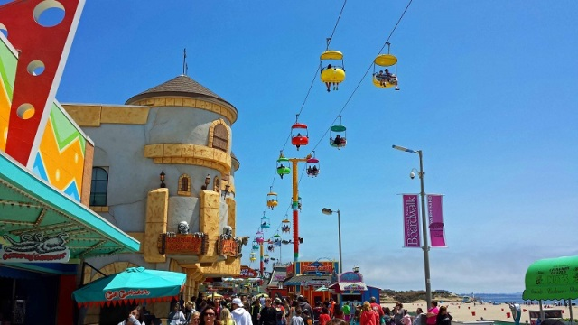 Santa Cruz Beach Boardwalk, California, Monterey Bay