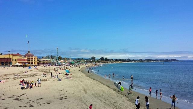 Santa Cruz Beach Boardwalk, California, Monterey Bay