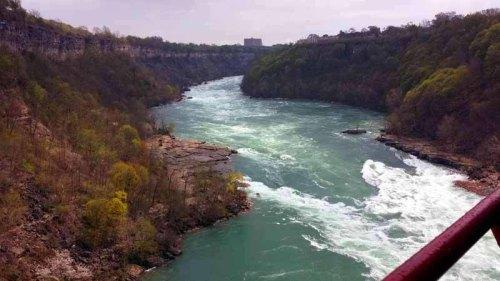 Niagara Falls Whirlpool Aero Car adventure, Ontario, Canada