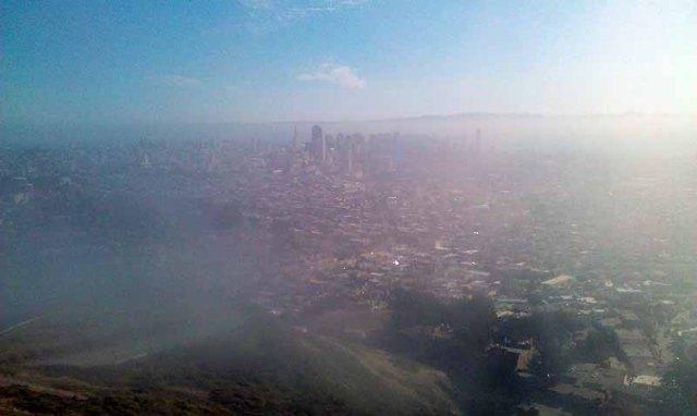 FriFotos - Sky - Foggy San Francisco