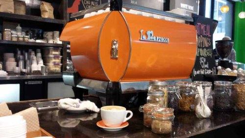 Babo Ann Arbor Market, cafe mocha, coffee