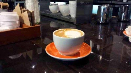 Babo Ann Arbor Market, Spanish Latte, coffee