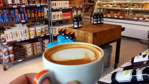 Babo Ann Arbor Market, Spanish Latte, coffee