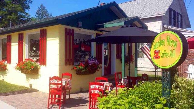 Frifotos - Entrances, Garden View Coffee Mill, Oscoda, Michigan